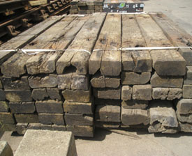 Used Railway Sleepers Grade 3